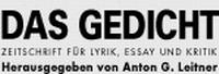 DAS GEDICHT - (c) Anton G. Leitner Verlag