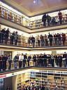 Bücherkubus in der Anna-Amalia-Bibliothek - (c) by Ariane Schreiter