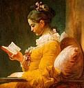 Lesende Frau v. Jean-Honoré Fragonard, ca. 1770 - (c) gemeinfrei
