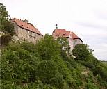 Das Alte Schloss in Dornburg - (c) W.Behrends/PIXELIO