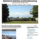 Webseite des Arbeitskreises Schreiben und Schreibcoaching - (c) AKS