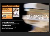 Screenshot der Verlagshomepage - (c) by Aschenbeck & Holstein Verlag