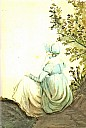 Jane Austen, porträtiert von Cassandra Austen - (c) gemeinfrei