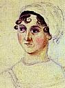 Jane Austen, porträtiert von Cassandra Austen - (c) Wikimedia.org