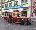 Belvedere-Express Weimar, Abfahrt am Markt - (c) by Jörg Dietel