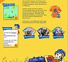Die Homepage von Benny Blu - (c) Kinderleicht Wissen Verlag