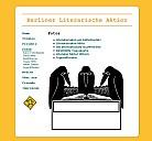 Berliner Literarische Aktion - (c) Berliner Literarische Aktion