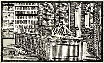 Ein Buchladen im 18. Jahrhundert - (c) gemeinfrei
