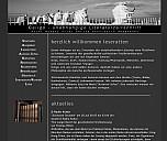 Screenshot der Verlagshomepage - (c) Caligo Verlag