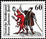 Die Faust-Briefmarke von 1979 - (c) heim2.tu-clausthal.de