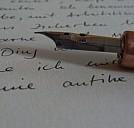 Schreibfeder - (c) Claudia Rothe/pixelio.de