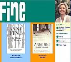 Website von Anne Fine - (c) Anne Fine