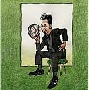 Franzobels großer Fußballtest, Buchcover von Gerhard Haderer - (c) Picus Verlag