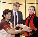 Indien übergibt die Staffelrolle der Gastländer an den Ehrengast 2007 Katalanische Kultur - (c) by Frankfurter Buchmesse/Hirth