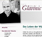 Website von Thomas Glavinic - (c) Thomas Glavinic