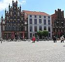 Marktplatz Greifswald - (c) Krebs07/pixelio.de