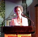 Katharina Hacker beim Antritt als Stadtschreiberin von Bergen 2005   - (c) NetzJ/Wikipedia.org