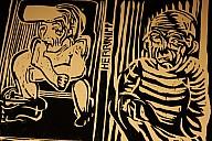 Holzschnitt von Haimo Hieronymus - (c) H. Hieronymus