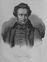 Victor Hugo 1835 - (c) F. Weber