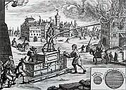 Die Nürnberger Feuerwehr, Kupferstich von 1661 - (c) Tilo/beetjedwars/Wikipedia