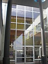 Eingang zur Leinefelder Stadtbibliothek - (c) Antonia Pfaff