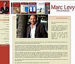 Webseite von Marc Levy - (c) Marc Levy