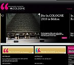 Webseite der lit.COLOGNE - (c) lit.COLOGNE