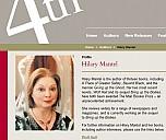 Hilary Mantel auf der Webseite von 4th Estate - (c) 4thestate.co.uk