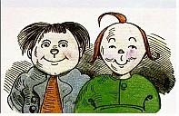 Max und Moritz, Titelbild - (c) gemeinfrei