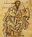 Der schreibende Paulus, St. Gallen, frühes 9. Jh. - (c) gemeinfrei