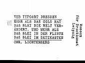 Inschrift im Museum für Druckkunst Leipzig - (c) Gisela Rößler