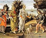 Sandro Botticelli: Das Urteil des Paris (Ausschnitt) - (c) Wikipedia.org