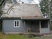 Das Wohnhaus von Arno und Alice Schmidt in Bargfeld - (c) Hoffmann und Campe
