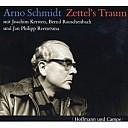Arno Schmidt auf einem Hörbuch-Cover - (c) Hoffmann und Campe