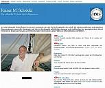 Webseite von Rainer Maria Schröder - (c) Rainer M. Schröder