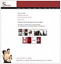 Screenshot der Verlagshomepage - (c) Storia Verlag