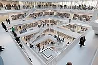 Die Stadtbibliothek Stuttgart - (c) Stadt Stuttgart, Foto: Kraufmann/Hörner
