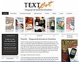 Webseite von TextArt - (c) TextArt