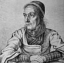 Dorothea Viehmann auf einer Radierung von Ludwig Emil Grimm - (c) Gemeinfrei