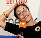 Zadie Smith auf der Frankfurter Buchmesse 2006 - (c) Frankfurter Buchmesse/OLeary